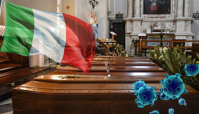 COVID-19 – κορωνοϊός: Ιταλία 793 νεκροί σε μια μέρα
