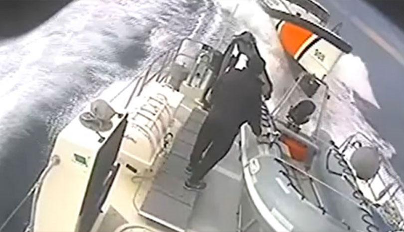 Τουρκική ακταιωρός παρενοχλεί ελληνικό σκάφος