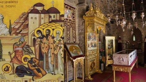 Ο Παρακλητικός κανόνας και τα Ιερά λείψανα των οσιομαρτύρων Νταού Πεντέλης