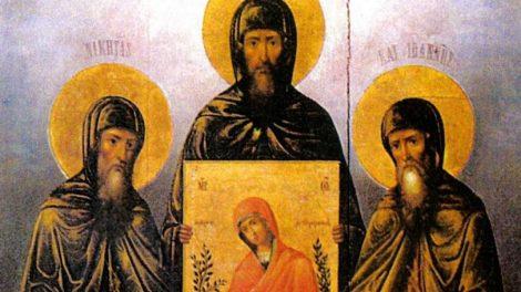 Εορτολόγιο 2020: Τετάρτη 20 Μαΐου Όσιοι Νικήτας, Ιωάννης και Ιωσήφ οι κτήτορες της Νέας Μονής Χίου