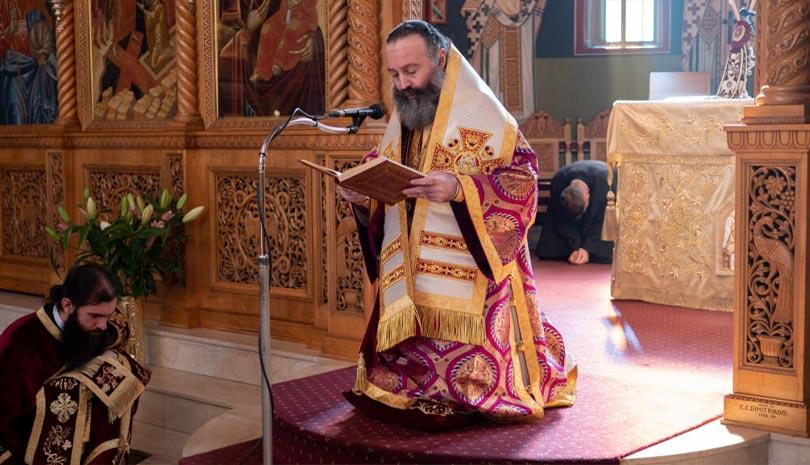 Αρχιεπισκοπή Αυστραλίας: Κυριακή της Πεντηκοστής & Εσπερινός της Γονυκλισίας στο Σύδνεϋ