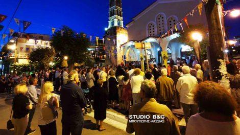 Ναύπλιο: Η εορτή της Αγίας Τριάδος στην Πρόνοια
