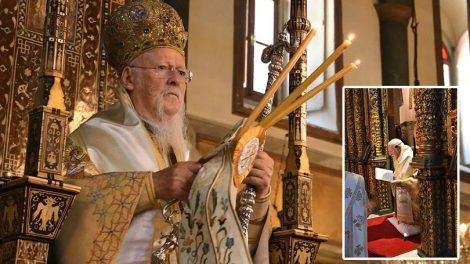 Οικουμενικό Πατριαρχείο: Κυριακή της Πεντηκοστής & Εσπερινός της Γονυκλισίας στο Φανάρι
