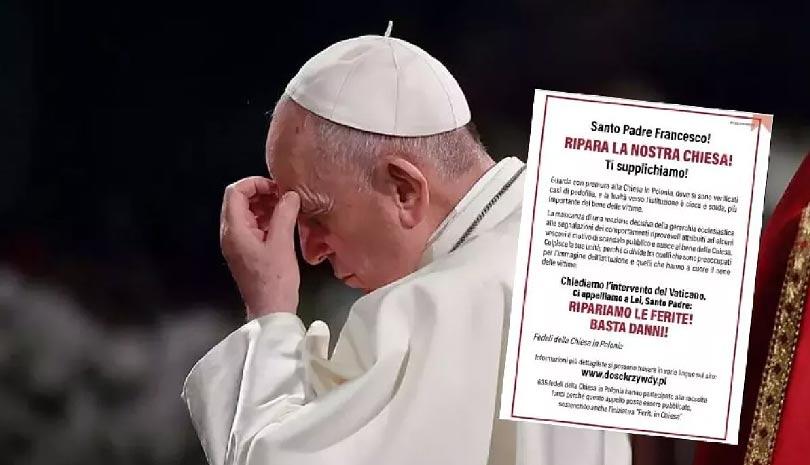 Ομάδα ρωμαιοκαθολικών καλεί τον πάπα Φραγκίσκο να παρέμβει για τις υποθέσεις κακοποίησης