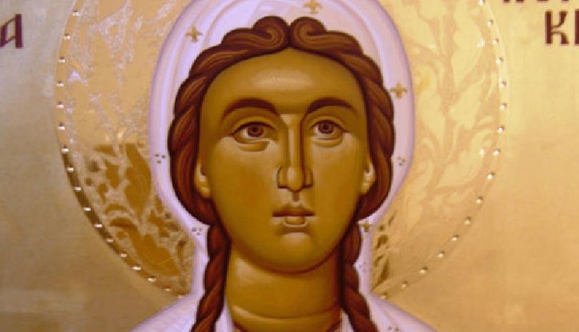 Αγία Κυριακή η Μεγαλομάρτυς - Ο παρακλητικός κανόνας στην αγία που προστατεύει από την κατάθλιψη