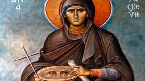 Αγία Παρασκευή η προστάτιδα των ματιών - Η ζωή και τα θαύματα της
