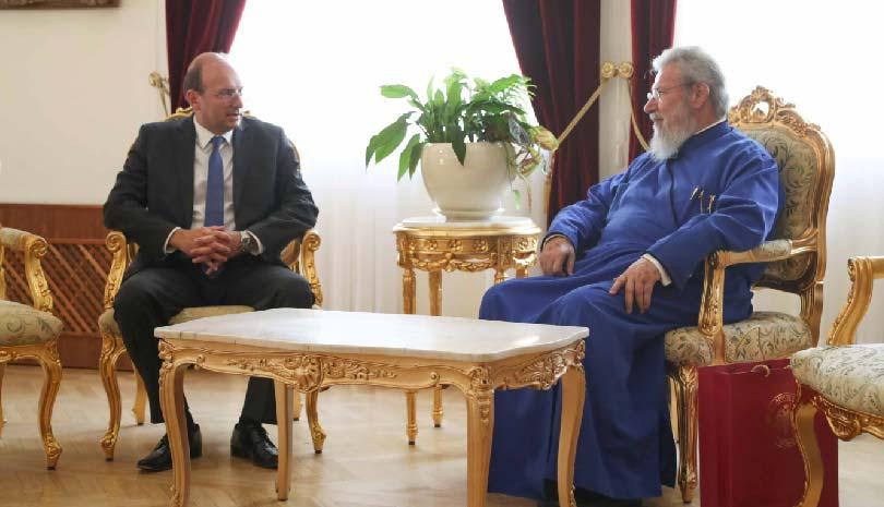 Αρχιεπίσκοπος Κύπρου Χρυσόστομος: «Όσα κάνει η Τουρκία τα κάνει για εσωτερική κατανάλωση»