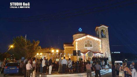 Η εορτή της Αγίας Μαρίνας στο Νέο Ροεινό Αργολίδος