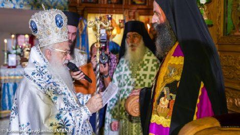 Ιερά Μονή Παναγίας Καλλίπετρας: Ενθρόνιση Καθηγουμένου Αρχιμ. Παλαμά Καλλιπετρίτη (ΦΩΤΟ)
