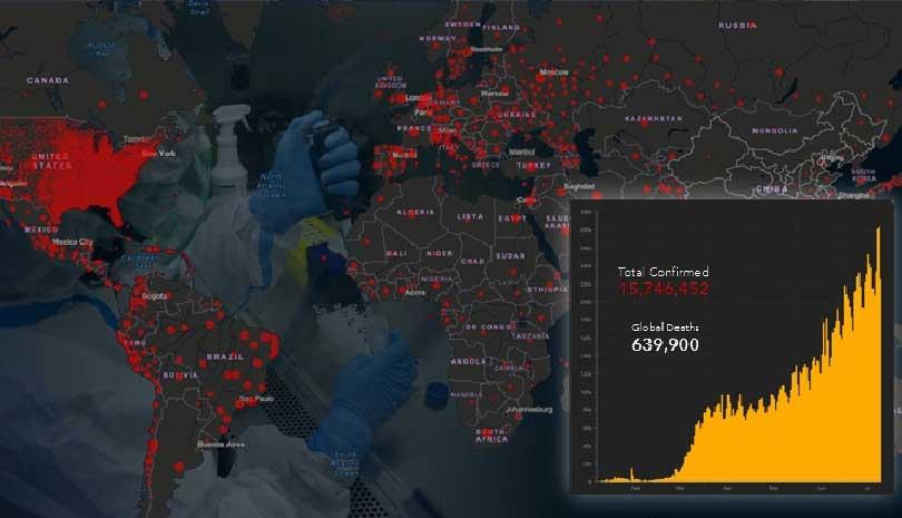 Κορωνοϊός: Σαρώνει η πανδημία του COVID-19 σε όλον τον πλανήτη