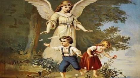 Άγιος Παΐσιος : Πώς τα φυλάνε τα μικρά παιδιά οι Άγγελοι !