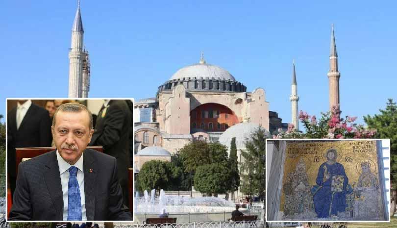 Τζαμί η Αγία Σοφία - To παραξηλώνει ο Ερντογάν - Αντιδράσεις από Πατριαρχείο Μόσχας