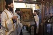 Δωρεά Θαυματουργού Εικόνος Αγίου Σπυρίδωνος εκ Νεαπόλεως Μ. Ασίας στην Ι.Μ. Νέας Ιωνίας