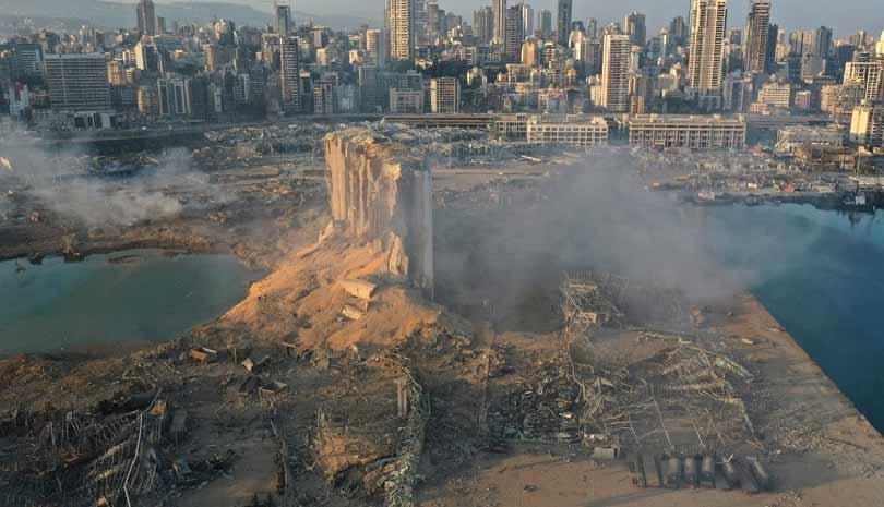 Έκρηξη στο Λίβανο   Ανατινάχθηκαν 2.750 τόνοι νιτρικού αμμωνίου