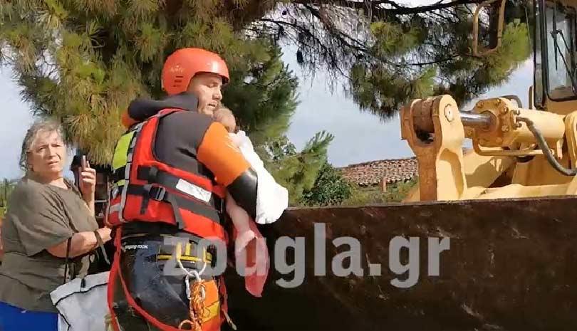 Εύβοια : Τρεις νεκροί από τη θεομηνία ΕΙΚΟΝΕΣ & ΒΙΝΤΕΟ