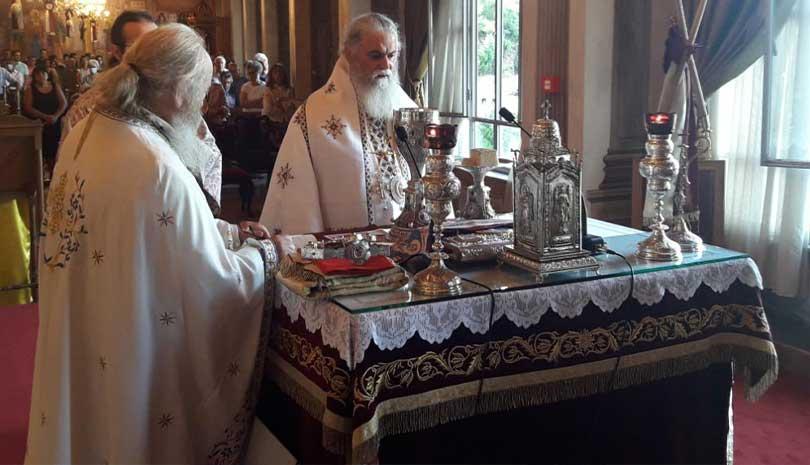 Με Λαμπρότητα η Κοίμηση της Θεοτόκου στην Ι.Μ. Καλαβρύτων & Αιγιαλείας
