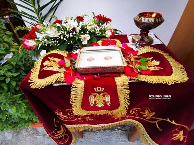 Οι Άγιοι Αδριανός και Ναταλία εορτάζονται στην Αργολίδα   ΕΚΚΛΗΣΙΑ   Ορθοδοξία   orthodoxia.online   Άγιοι Αδριανός και Ναταλία   Αργολίδα   ΕΚΚΛΗΣΙΑ   Ορθοδοξία   orthodoxia.online