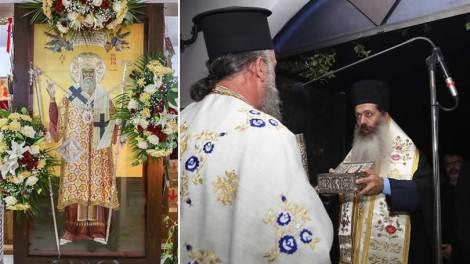 Φθιώτιδος Συμεών: Να μιμηθούμε έστω στο ελάχιστο την υπομονή του Αγίου Νεκταρίου