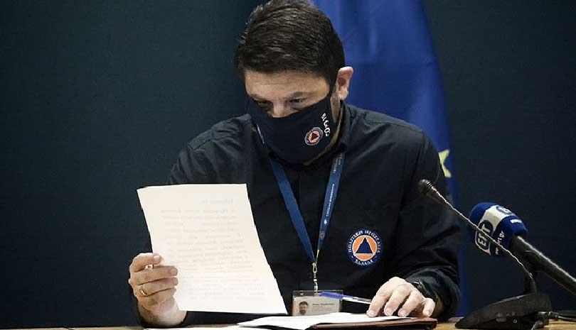 Νίκος Χαρδαλιάς: Τα πρόσθετα περιοριστικά μέτρα στην Αττική