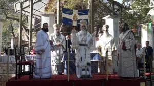 Πανηγυρική Αρχιερατική Θεία Λειτουργία στην Παναγία Πλατανιώτισσα
