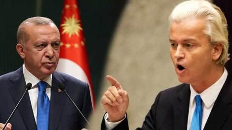 Γιατί ο Ερντογάν υπέβαλε μήνυση κατά του Γκερτ Βίλντερς