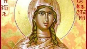 Η Αγία Σεβαστιανή γιορτάζει σήμερα 24 Οκτωβρίου