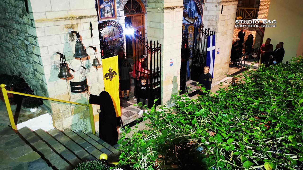 Πανηγυρικός εσπερινός στην Ιερά Μονή Αγίου Δημητρίου ή Καρακαλά   ΕΚΚΛΗΣΙΑ   Πανηγυρικός εσπερινός   Ιερά Μονή Αγίου Δημητρίου   ΕΚΚΛΗΣΙΑ   Ορθοδοξία   online