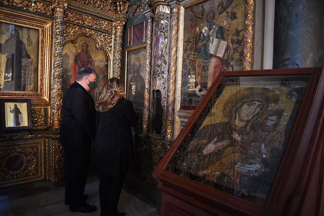 Στο Οικουμενικό Πατριαρχείο ο Μάικ Πομπέο | ΕΚΚΛΗΣΙΑ | Ορθοδοξία | orthodoxia.online | Οικουμενικό Πατριαρχείο | Μάικ Πομπέο | ΕΚΚΛΗΣΙΑ | Ορθοδοξία | orthodoxia.online