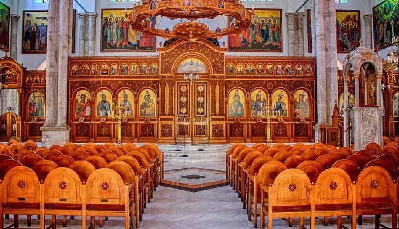 Πως λειτουργούν οι εκκλησίες στις έξι περιοχές με σκληρό lockdown