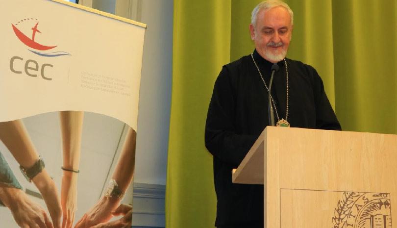 Ο Μητροπολίτης Γαλλίας Εμμανουήλ στο Ευρωπαϊκό Συμβούλιο Εκκλησιών