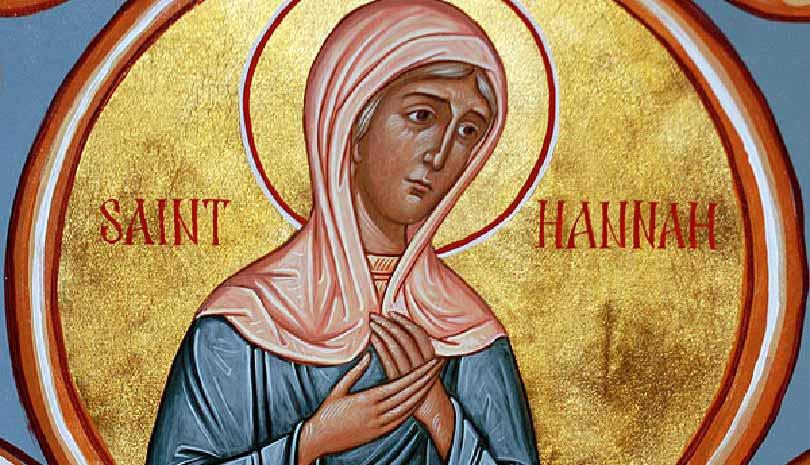 Σήμερα γιορτάζει η Δικαία Άννα η προφήτιδα Μητέρα του προφήτη Σαμουήλ