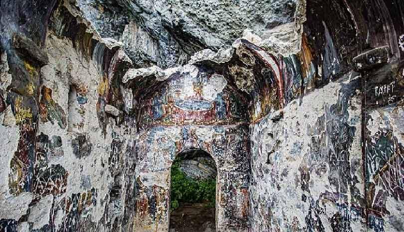 Τουρκία: Καταρρέει η πιο παλιά μονή στον Πόντο (270 μ.Χ.)