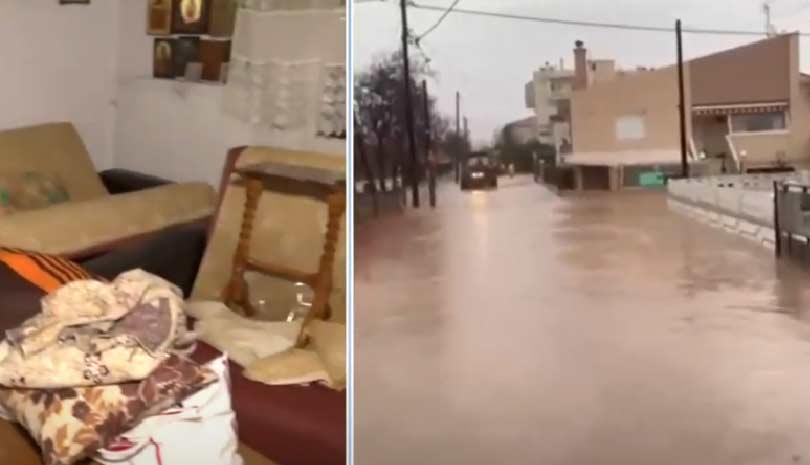 Έβρος: Καταστροφές και ζημιές σε σπίτια από την κακοκαιρία