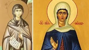 Γιορτάζουν σήμερα 7 Φεβρουαρίου 2021: Αγίες Εμμελεία, Νόννα και Ανθούσα