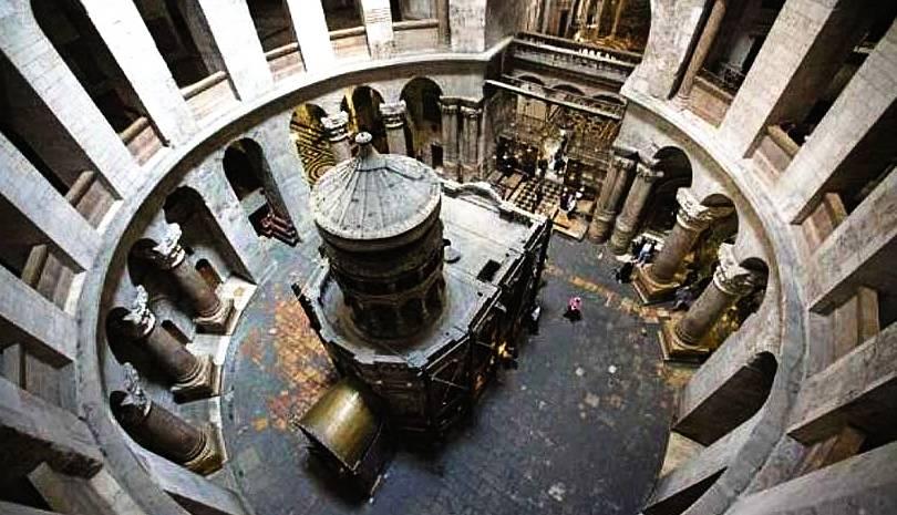 Ανοιχτοί για το Πάσχα Πανάγιος Τάφος και Ναός της Αναστάσεως