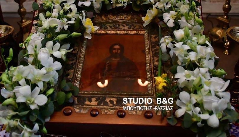 Φανερωμένος Χριστός: Η εορτή της θαυματουργής εικόνας στην Αγία Μονή Ναυπλίου