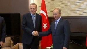Πούτιν Ερντογάν εγκαινίασαν τον τρίτο πυρηνικό αντιδραστήρα στο Ακούγιου