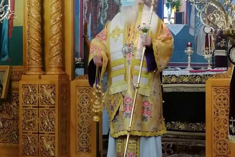 2 χρόνια από την ενθρόνιση του Μητροπολίτη Περιστερίου | orthodoxia.online | μητροπολη περιστεριου | κυριακη ε νηστειων | ΕΚΚΛΗΣΙΑ | orthodoxia.online