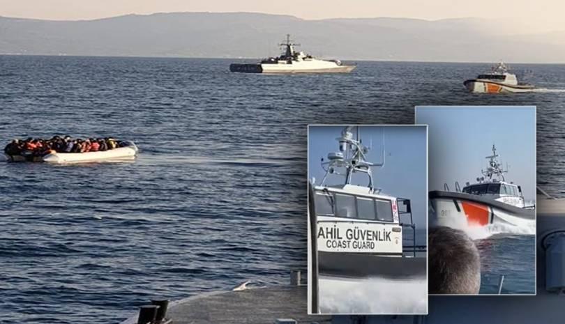 Tουρκική ακταιωρός και σκάφος του Λιμενικού εμπλάκησαν σε επεισόδιο