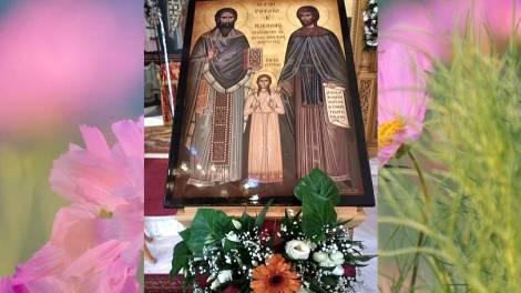 Άγιοι Ραφαήλ, Νικόλαος, Ειρήνη και οι συν αυτοίς - Μεγάλη γιορτή την Τρίτη του Πάσχα
