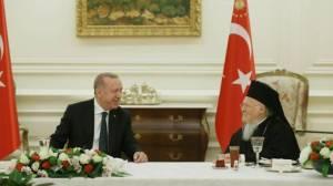 Ο Οικουμενικός Πατριάρχης προσκεκλημένος του Προέδρου Ερντογάν σε δείπνο Iftar στην Άγκυρα