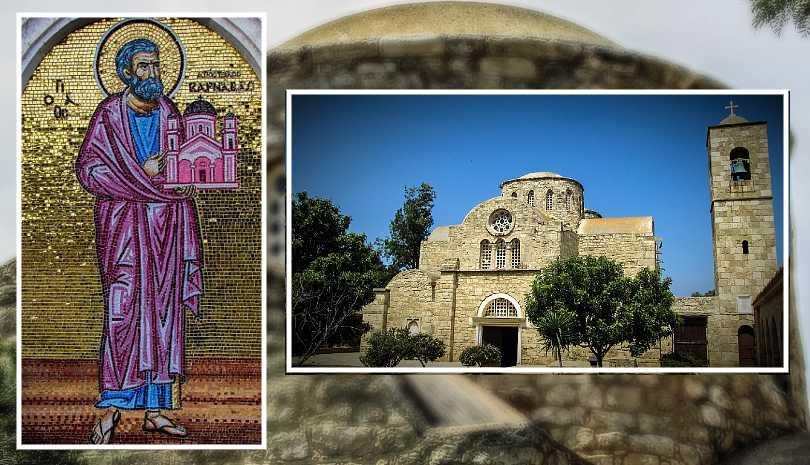 11 Ιουνίου η γιορτή του Ιδρυτή της Εκκλησίας της Κύπρου Αποστόλου Βαρνάβα