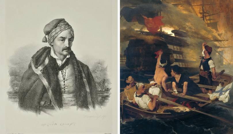 Σαν σήμερα ο Κανάρης ανατινάσσει την τουρκική ναυαρχίδα