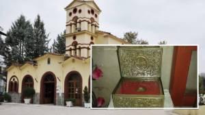 Υποδοχή ιερού λειψάνου Αγίας Παρασκευής