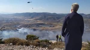 Μητρόπολη Ιλίου : Δέηση για την κατάσβεση των μετώπων της φωτιάς