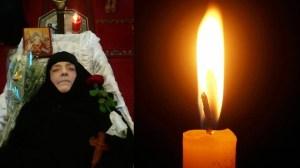 Εκοιμήθη η Γερόντισσα Ιερωνύμη - Μονή Τιμίου Σταυρού Έδεσσας