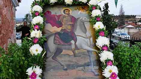 Ναύπλιο: Ο Άγιος Ευστάθιος τιμήθηκε στον Άγιο Αδριανό-Κατσίγκρι