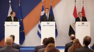 Τριμερής Ελλάδας, Αιγύπτου, Κύπρου: Οργή στην Άγκυρα