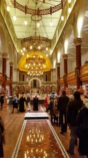 Kensington Cathedral interior