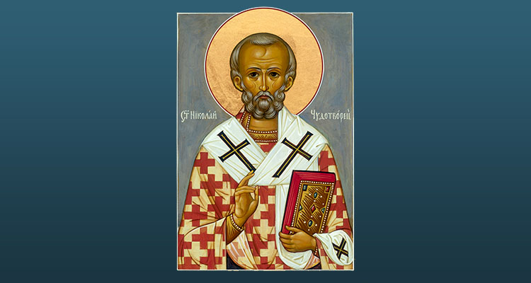 Icon of St Nicholas the Wonderworker
